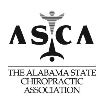 ALABAMA STATE CHIROPRACTIC ASSOCIATION