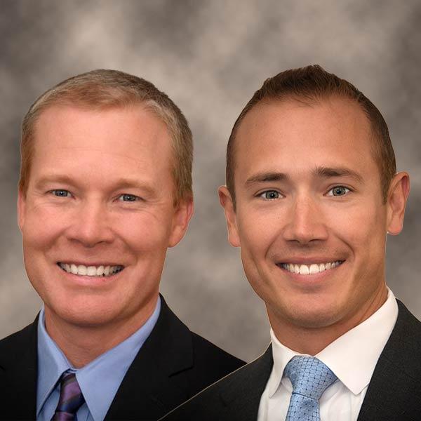 Dr. Tim Bertlesman and Dr. Brandon Steele